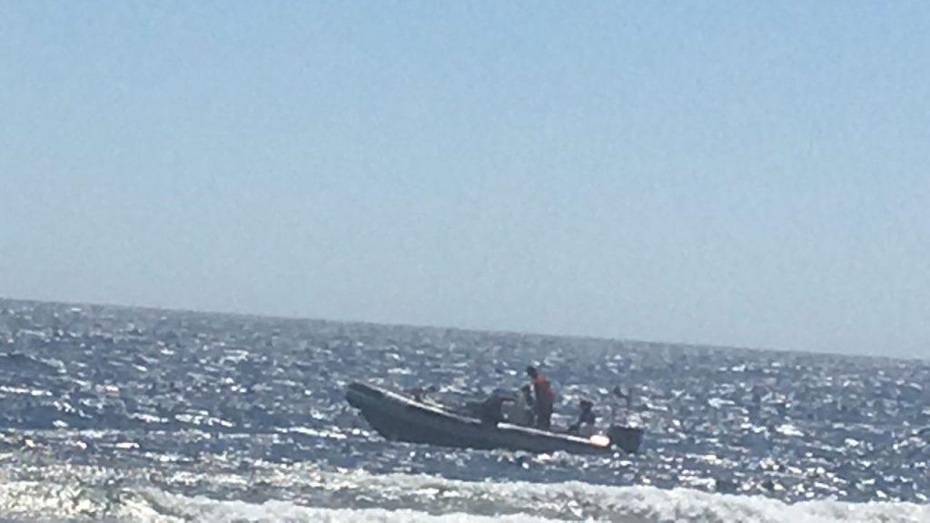Ägypten Tauchen Hausriff Speedboot