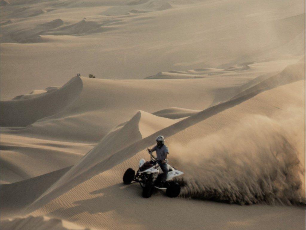 quad desert