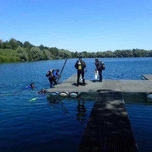Tauchen Widdauen See